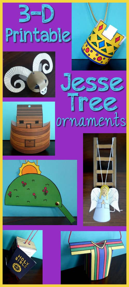 Jesse Tree Readings, Ornaments, and Free Printables!