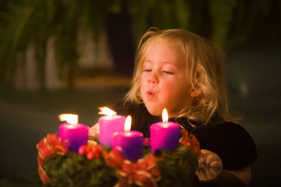 Advent and child