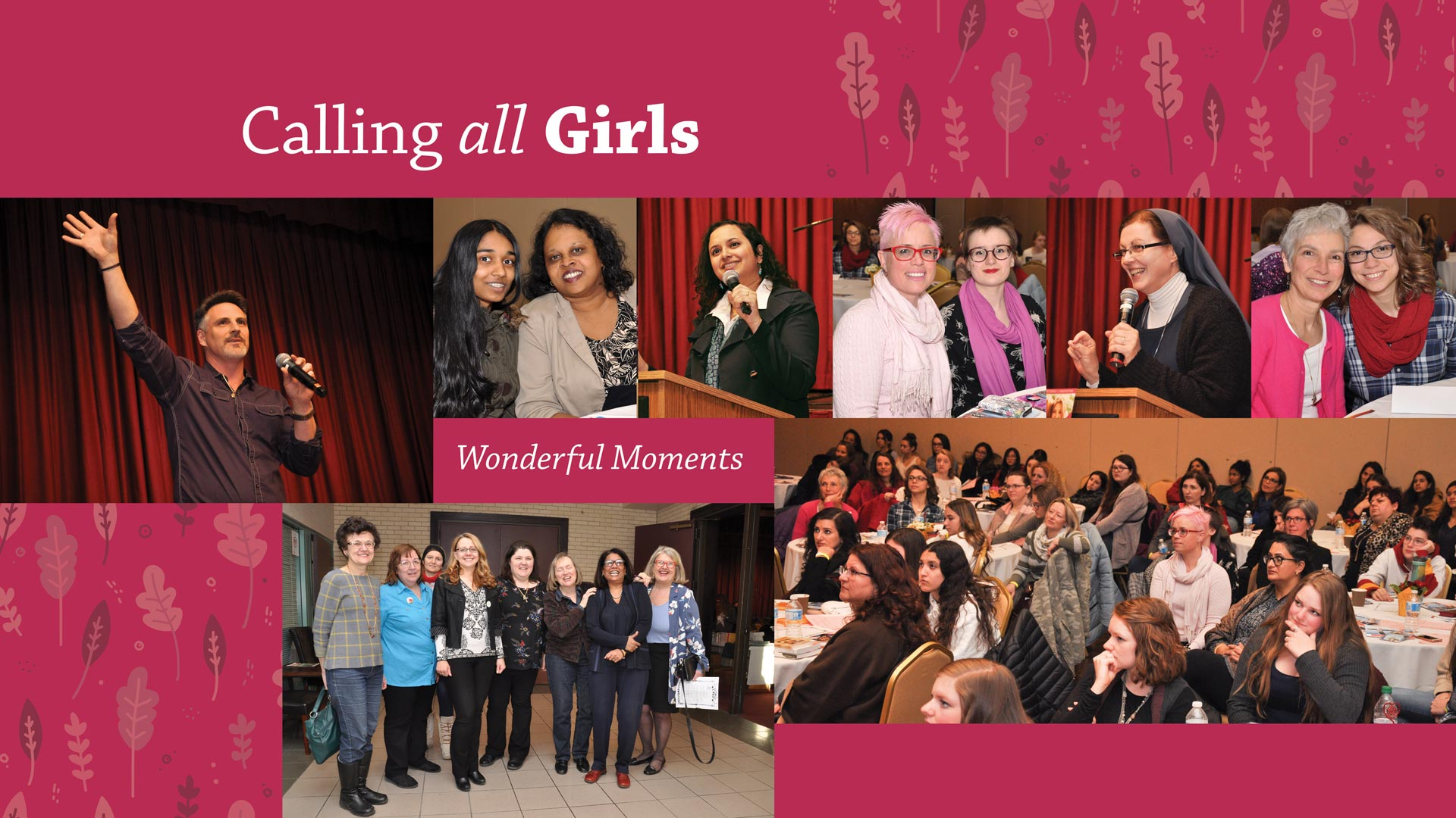 Calling All Girls. Wonderful moments