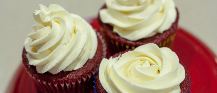 Red Velvet Cupcakes and My First Blogiversary
