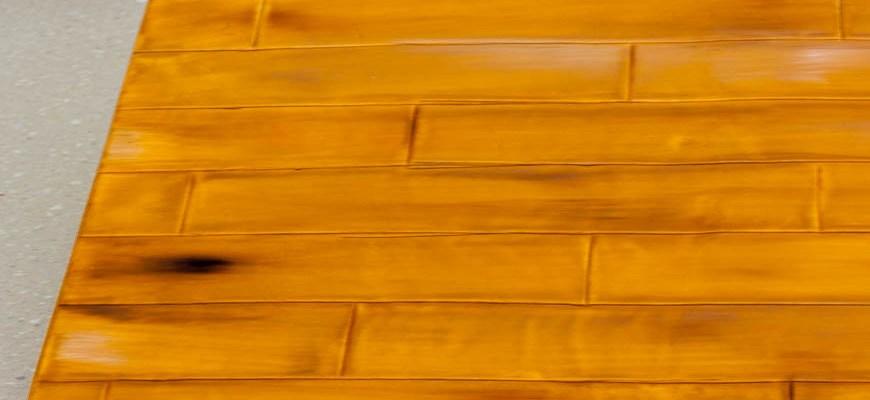 Fondant Wood Grain Cake Board