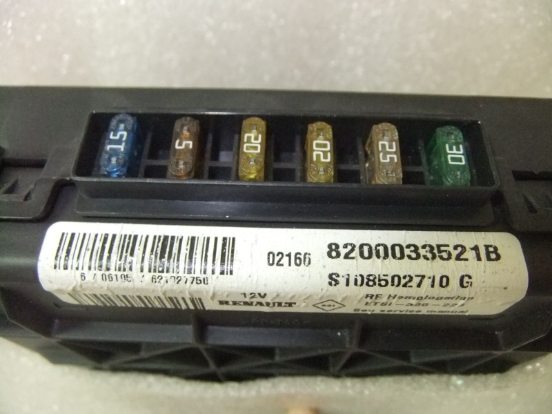 Fuse Boxes Renault Scénic I RX4 8200033521B / S108502710G - RE20070