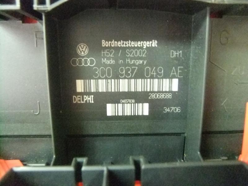 Fuse Boxes Skoda Octavia I II (DSG) 3C0937049AE / 28068688 - SK20117