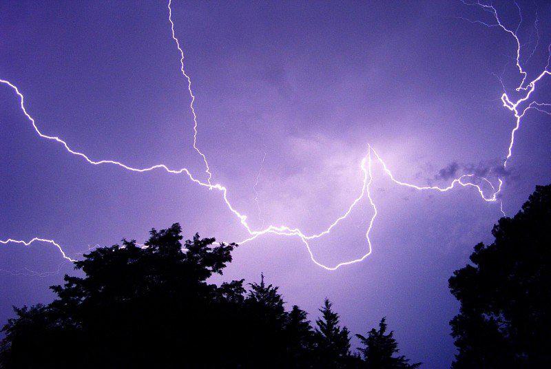Hiker Lightning Safety
