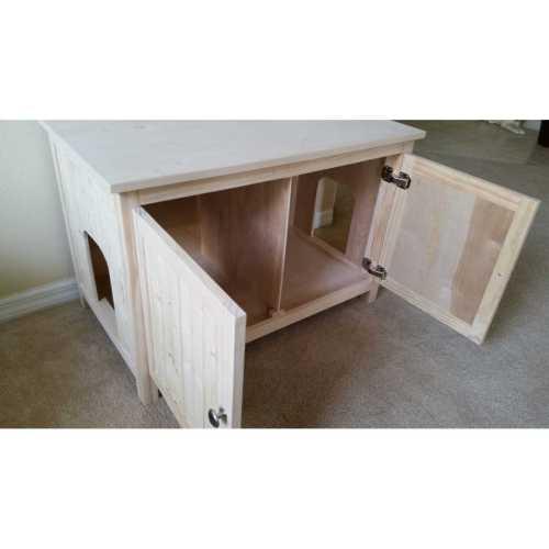 Medium Of Litter Box Cabinet