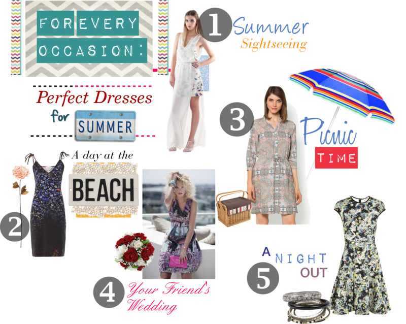 For every occasion: The perfect dresses for summer
