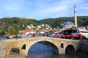 Stone Bridge, Prizren (Kosovo)