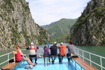 Ferry trip, Komani Lake, Albania
