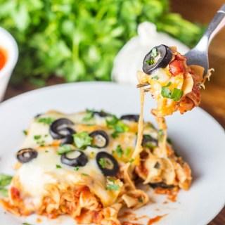Easy Lasagna Casserole | Catz in the Kitchen | catzinthekitchen.com | #casserole #lasagna #recipe