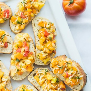 Heirloom Tomato Bruschetta Pin