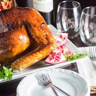 pomegranate molasses glazed turkey