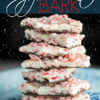 4 Ingredient Peppermint Bark