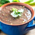 Slow Cooker Black Bean Soup
