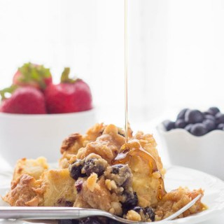 Overnight Blueberry Lemon French Toast-5