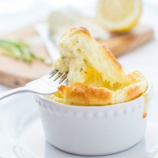 Goat Cheese Soufflé PIN