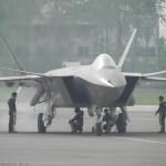 VÍDEO E IMAGENS: Caça chinês J-20 realiza o segundo voo de testes