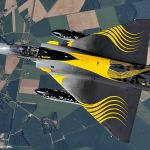IMAGENS: Mirage 2000C francês com pintura de 50 anos do Tiger Meet