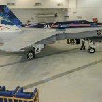 IMAGENS: A nova pintura do Hornet da Equipe de Demonstração CF-18 da Força Aérea do Canadá