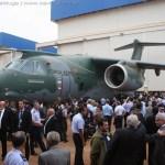 IMAGENS: Embraer apresenta oficialmente o seu KC-390