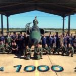 FAB completa 1.000 horas de voo com caças A-1M