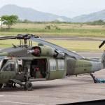 Acidente com Black Hawk na Colômbia deixa quatro mortos e dois feridos
