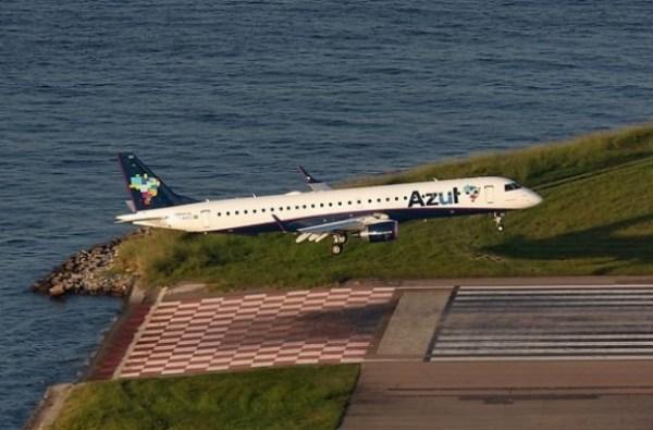 Embraer ERJ-195AR  da Azul (Imagem: airteamimages)