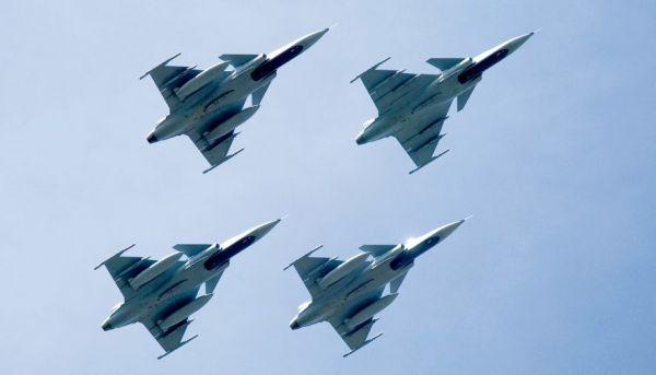 Arrendamento de caças Gripen C/D ainda está sendo estudado pela FAB. (Foto: Gripen International)