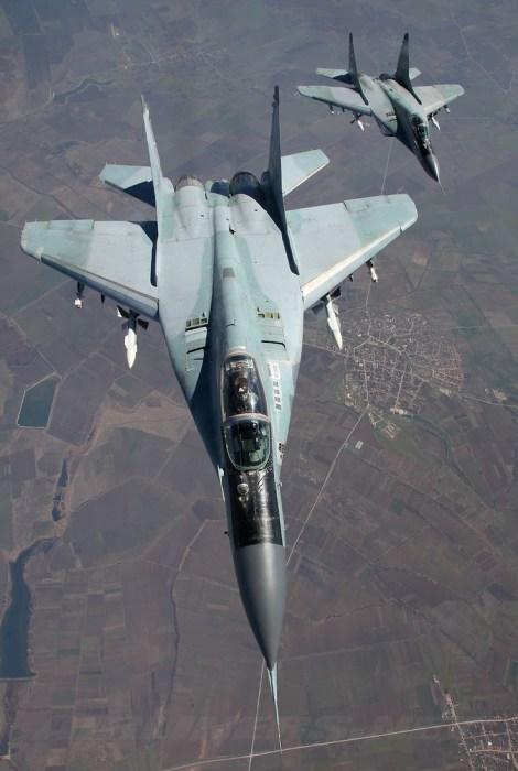 MiG-29 da força aérea da Bulgária (Imagem: airliners.net)