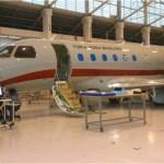 FAB: Embraer inicia montagem de laboratório no primeiro Legacy 500 do GEIV