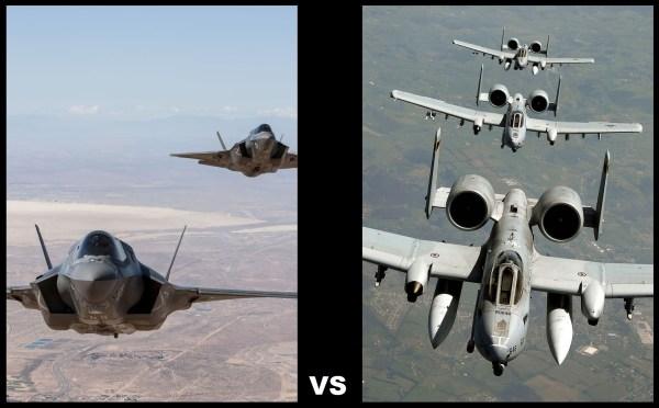 F-35 vs A-10