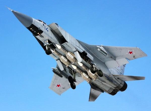 MiG-31BM VVS (Foto - Kirill FW-Mess)