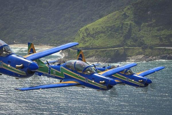 As aeronaves A-29 Super Tucano se apresentarão no Rio Grande do Sul no dia 12 de outubro, na Expoaer. (Foto: EDA)