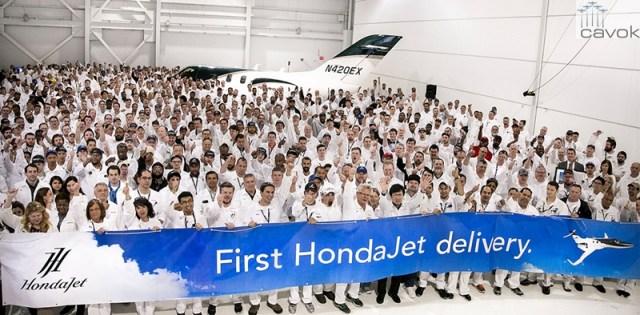 Hondajet - First Delivery