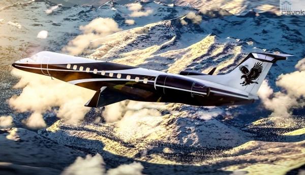 O pedido de um jato executivo Legacy 650 é de um cliente não revelado do Oriente Médio. (Foto: Embraer Executive Jets)