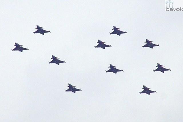 10 anos de operação do Gripen na Hungria