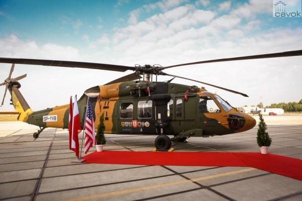 O protótipo do helicóptero utilitário T70 encomendado pela Turquia foi entregue para Sikorsky pela subsidiária polonesa PZL Mielec, a qual montou a aeronave. (Foto: Sikorsky)
