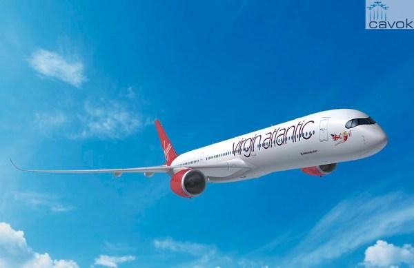 Concepção artística do Airbus A350-1000 nas cores da Virgin Atlantic Airways. (Foto: Fixion / Airbus)