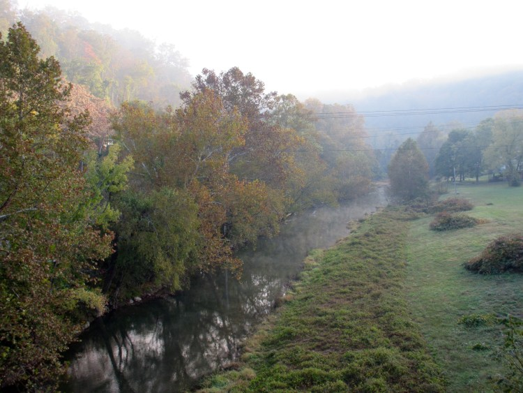 Martins Fork, Harlan KY in the early morning