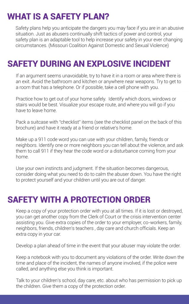 Safety Plan School Safety Plan A Prepared School Is A Safe School