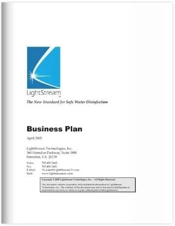 Sample Professional Business Plan 6 Documents In PDF Interior