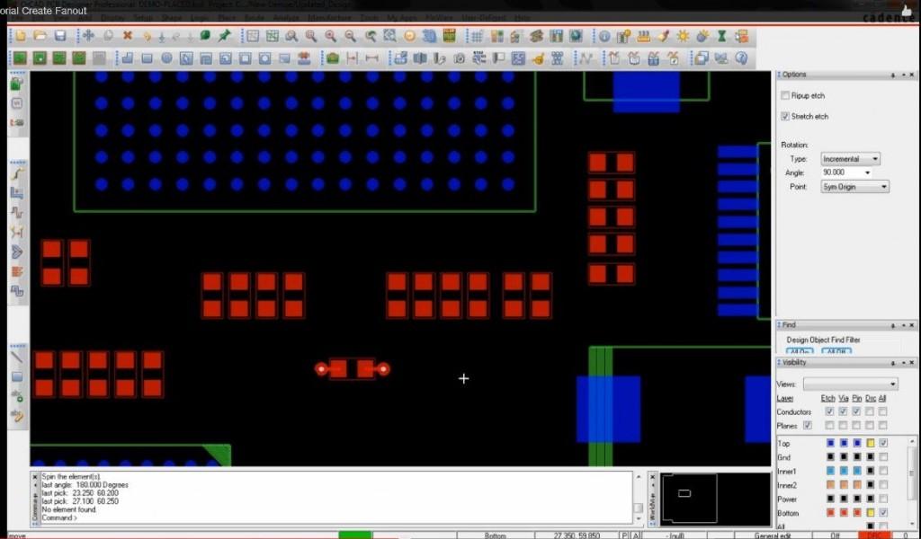 OrCAD/Allegro PCB Editor Create Fanout