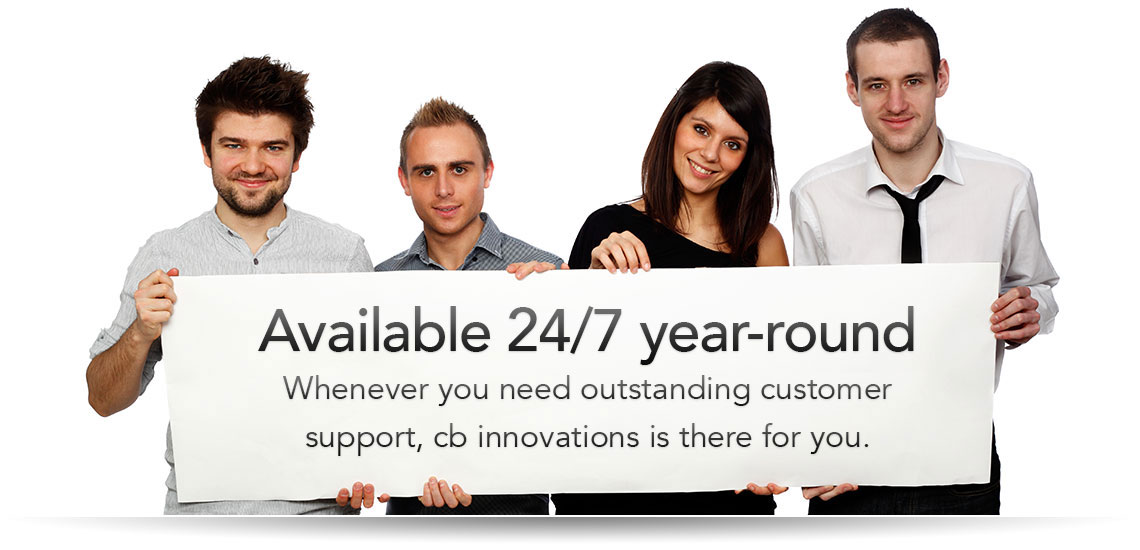 Support cb innovations - Get help and personal support for your cb - help and support