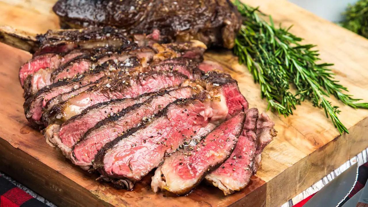 Recipe Cowboy Steaks Cbc Life