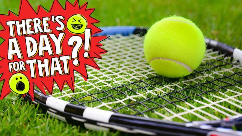 Why tennis balls are fuzzy, and other facts for International Tennis - why is there fuzz on a tennis ball