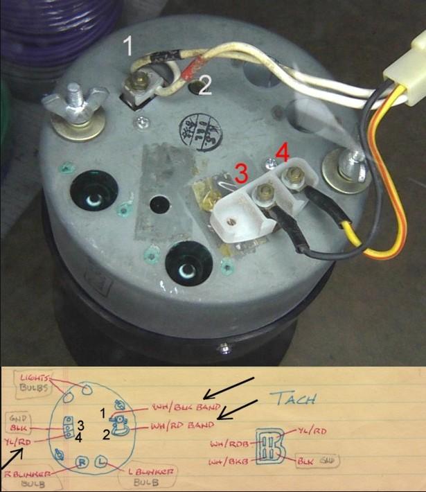 Instrument Gauge Connections? - Nissan  Datsun ZCar forum Nissan Z
