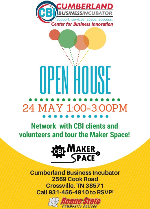 business open house flyer - Selol-ink
