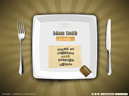 Private Chef - Easy flash template ID300110970