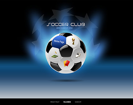 Soccer - Easy flash template ID300111113
