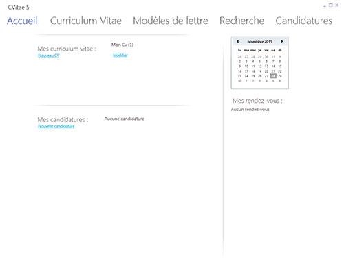 logiciel suivi candidature cv