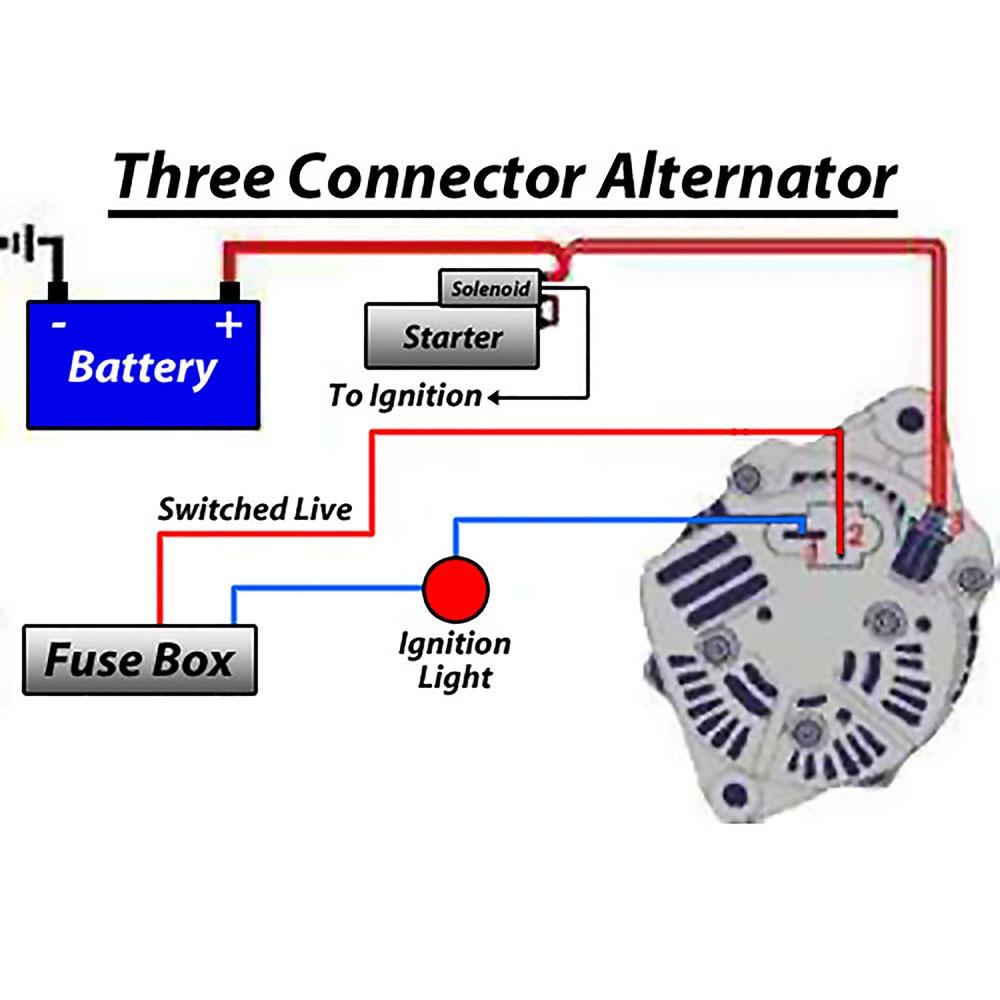 Type 3 Alternator Conversion Kit - fits Squareback, Notchback and